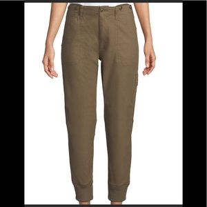 NWT Vince Military Style Cargo Olive Jogger Pants